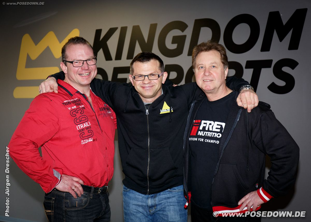 "NAC Coaching Day im ""Kingdom of Sports"" Hamburg<br><strong>Patrick von Glahn, Andreas Scholz</strong>, <strong>Harald Hoyler</strong><strong></strong><br>"